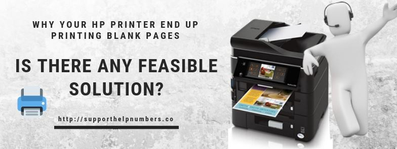 Why Your HP Printer End Up Printing Blank Pages – Is There